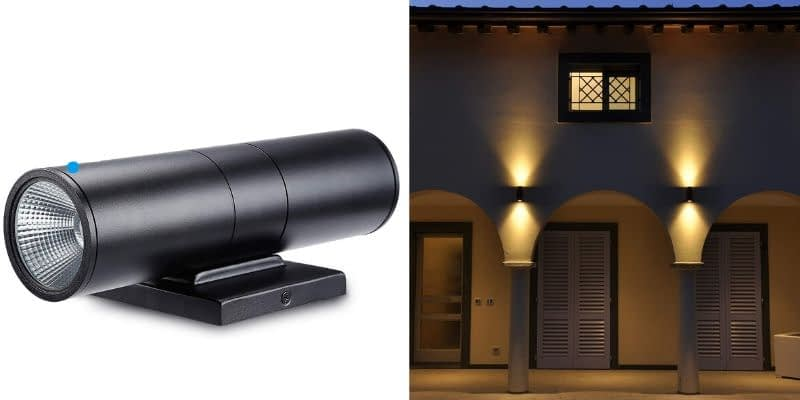 Leonlite Cylinder Wall Light