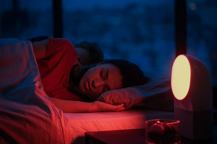 Sleeping with a Red Night Light