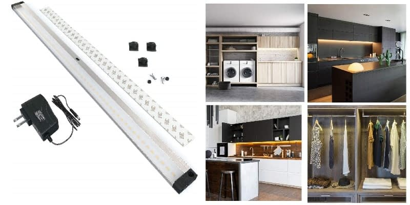 EShine LED Dimmable Hands-Free Under Cabinet Lighting