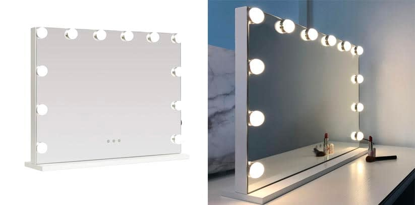 3. Best for Vanity Table- Wayking Table Top Mirror