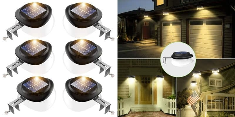 JSOT Extending and Rotating Outdoor Solar Lamps