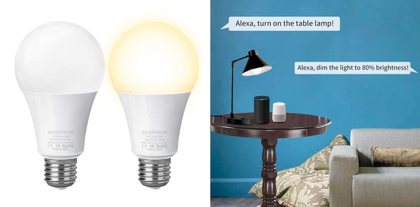 Smart Bulb Anoopsyche E26 Dimmable