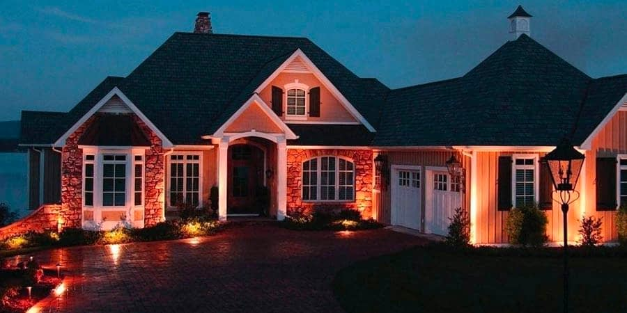 Outdoor Security Accent Lighting