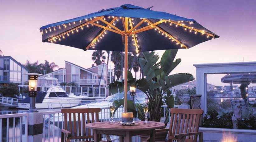 Best Patio Umbrella Lights For Outdoors