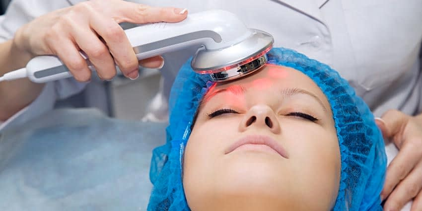 LED Light Therapy Skin Treatment