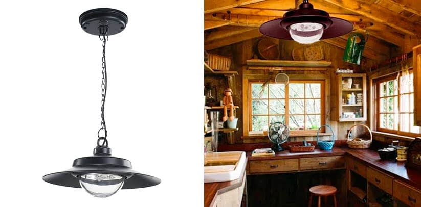 Nature Power 21030 Hanging Solar Powered LED Shed Light