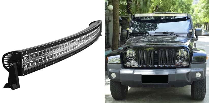 Curved LED Light Bar Eyourlife