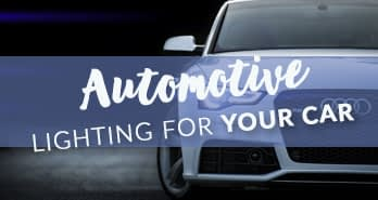 Automotive Lighting for your Car Small Banner