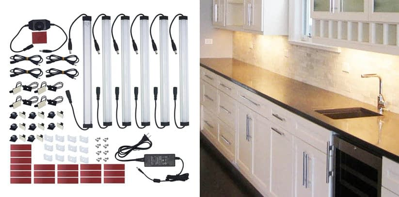 Under Cabinet LED Lighting Kit Plug in