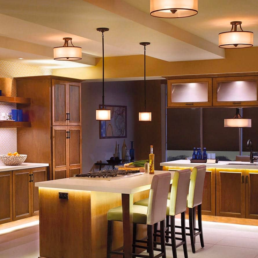 Ambient Kitchen Lighting Fixtures