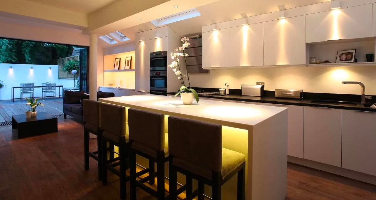 Kitchen Mood Lighting Ideaas