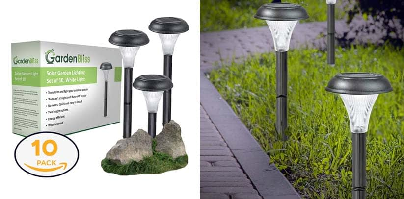 GardenBliss Best Solar Lights For Outdoor Pathway