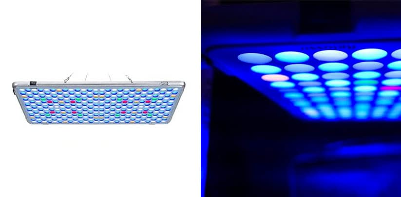 Relassy Updated Aquarium Light Dimmable LED Coral Reef Light