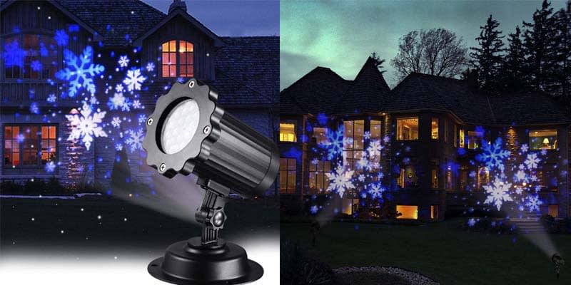 KABCON Snowflakes Projector Lights