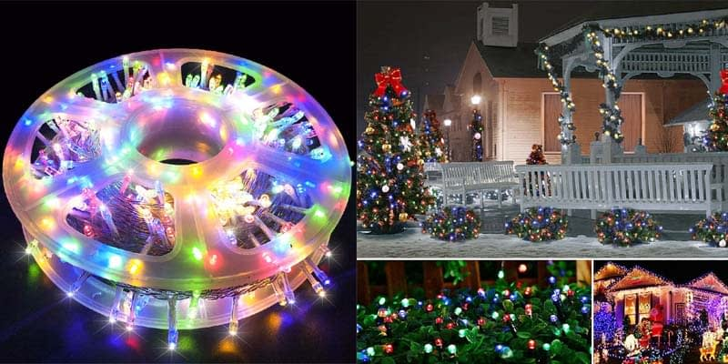 MYGOTO Waterproof Multicolor String Lights