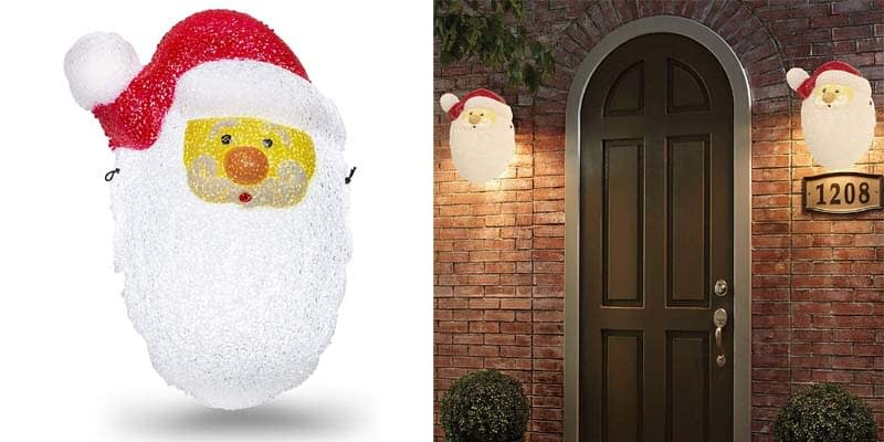 Besti Santa Porch Light Cover