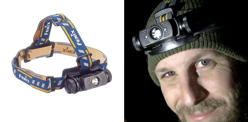 Fenix HL60R Rechargeable LED Headlamp with Rechargeable Battery