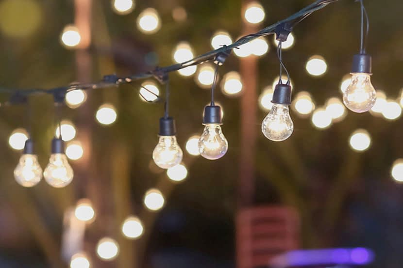How to Hang String Lights Backyard String Lighting Ideas