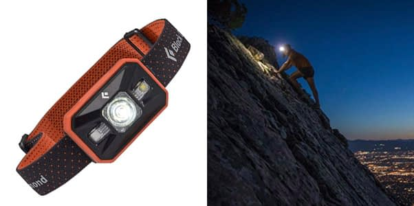 8. Black Diamond Storm 350 Lumen LED Headlamp