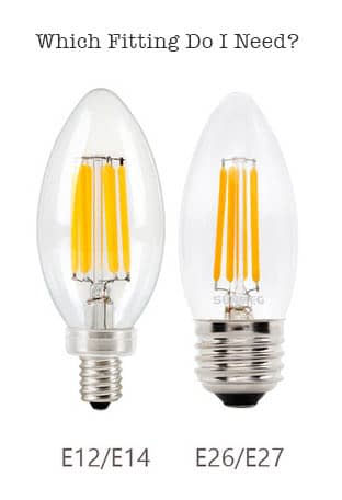 Which Bulb Fitting Do I Need