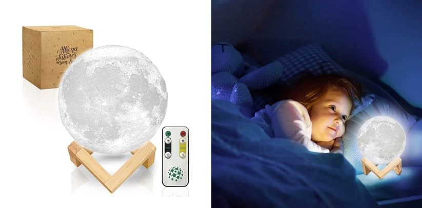 Moon Lamp with Timer Moon Light 3D Moon Lamp