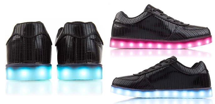 2. Light Up LED Adult Shoes by Electric Styles