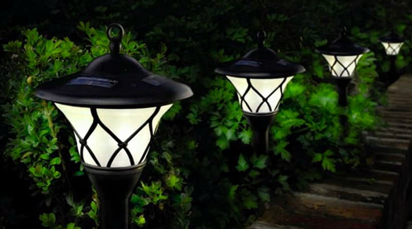 Solar Landscape Lighting Appearance and Design