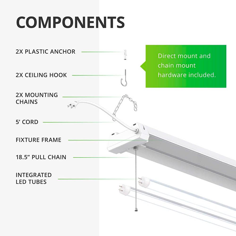 Main Components of the Sunco Lighting