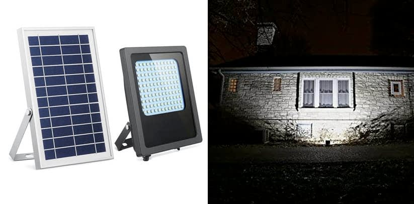 Hiji Solar Powered Led Flood Light