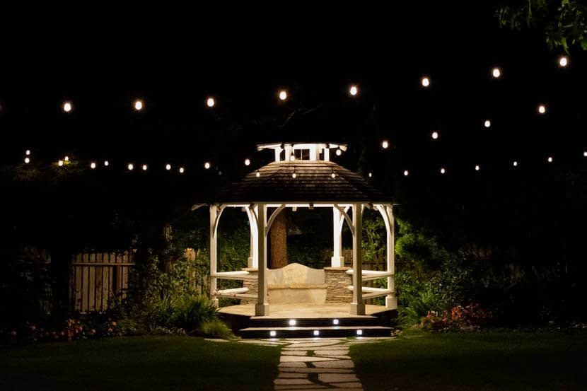 Best Gazebo Lights Pergola Gazebo Lighting Ideas Led Light Guides