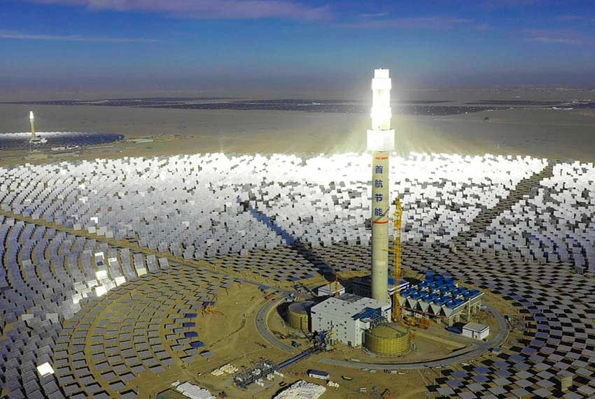 Chinas Solar Thermal Tower