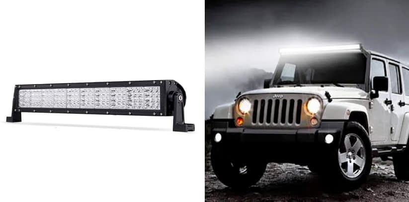 POWLAB LED Light Bar Off Road Lights
