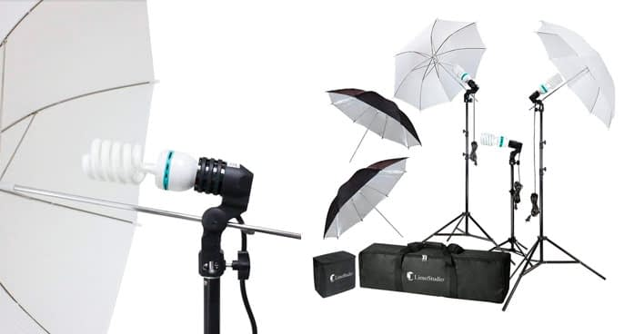 1. LimoStudio Daylight Continuous Umbrella Lighting Kit