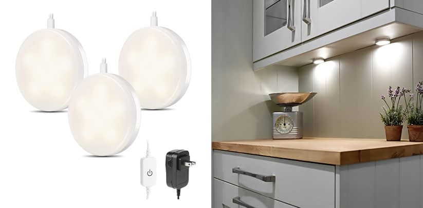 LE LED Under Cabinet Lighting Kit