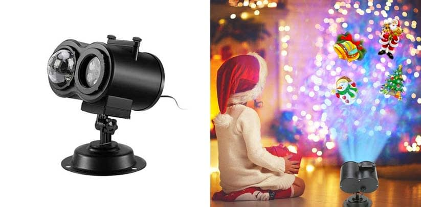 SMOKTN LED Christmas Projector Lights