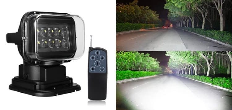 SUPAREE Rotating Remote Control LED Spot