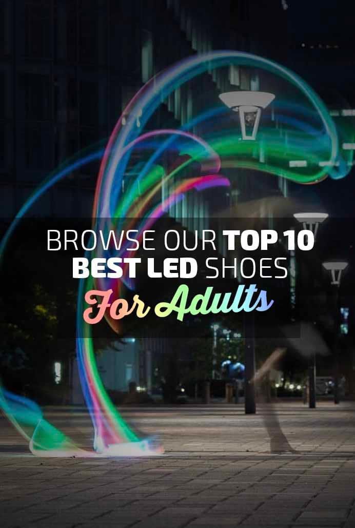 Top 10 Best Shoes for Adults Banner