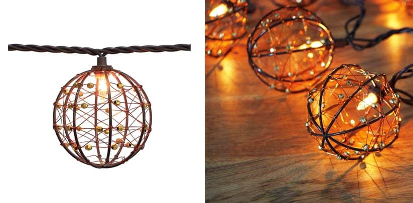 ZHONGXIN Outdoor Patio String Lights