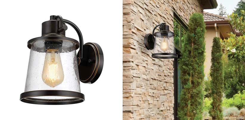 Charlie Outdoor Indoor Wall Porch Sconce
