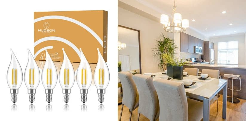 Hudson Lighting E12 LED Chandelier Light Bulbs