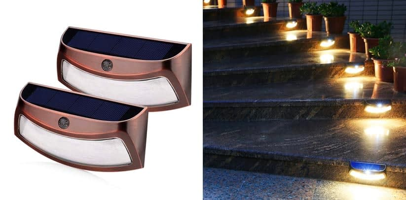 XTF2015 Copper Color Solar Step Light Review