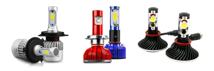 Different LED Headlights on The Market
