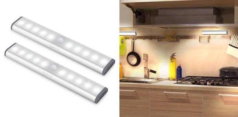 Lepotec Wireless Motion Sensor Cabinet Lights