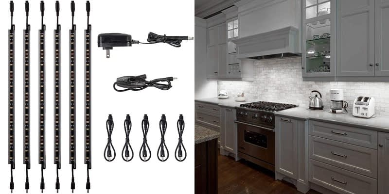 TorchStar LED Safe Kitchen Lighting Kit