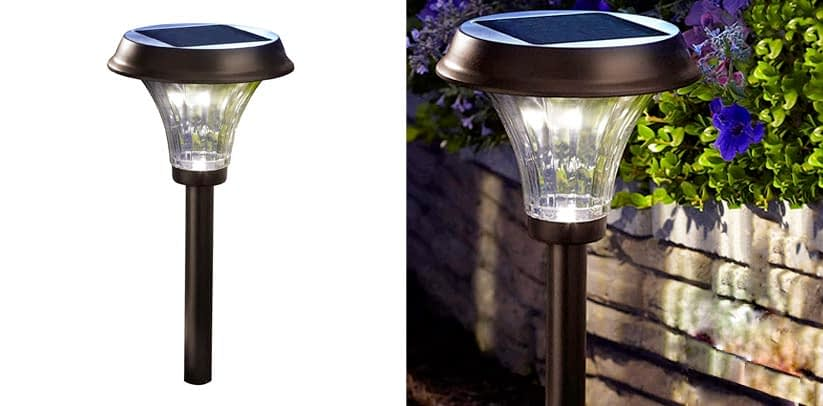 Moonrays 91754 Richmond Solar Metal Path Light