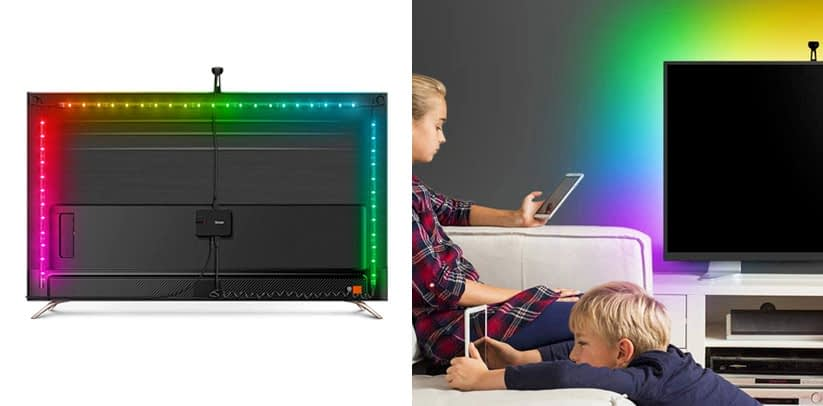 LED TV Backlights, Govee WiFi TV Backlights Kit with Camera