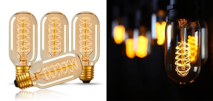Most Retro Design- CTK Edison Style LED Retro Bulb