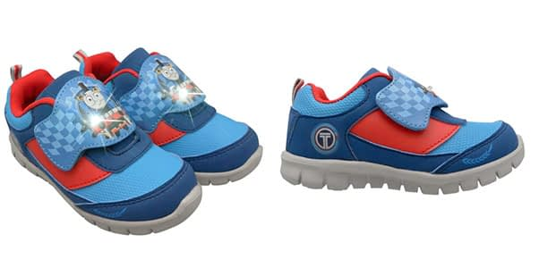 7. Boys Thomas and Friends Light-UP Toddler Running Shoes