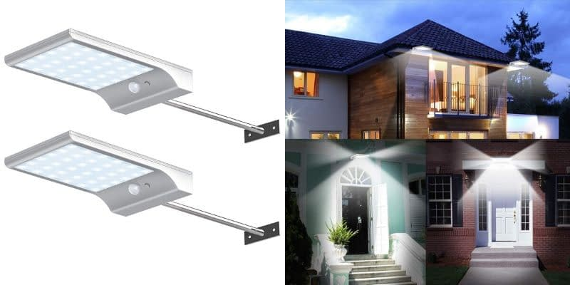 Innogear Motion Sensor Outdoor Sconces