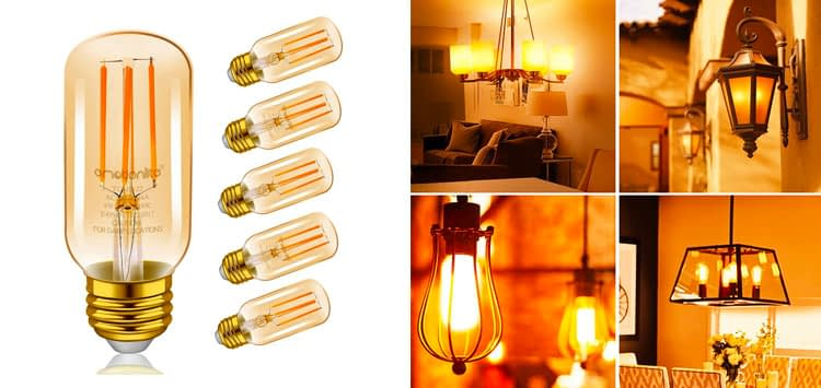 Most Unique Shaped Edison Bulb- Emotionlite LED Vintage Tubular Bulb